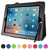 Mobility iPad Folio Tablet Case - PU Leather Protective Folding Magnetic Smart Case with Stand - Auto Sleep / Wake Feature - Fits Apple iPad 2, 3 & 4 - With Stylus Holder and Free Stylus - Black