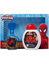 Marvel Ultimate Spider Man for Kids 2 Piece Gift Set with Edt Spray, Shower Gel and Shampoo