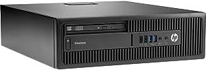 HP EliteDesk 800 G1 SFF Business High Performance Desktop Computer PC (Intel Core i5 4570 3.2G, 16GB RAM DDR3, 2TB HDD, DVD-ROM, HDMI, Windows 10 Pro) (Renewed) (16GB 2TB HDMI)