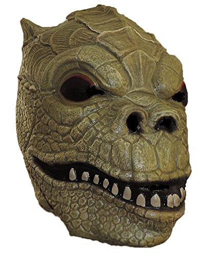 Star Wars Deluxe Bossk Bounty Hunter Overhead Latex Mask