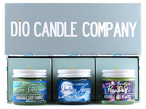 Adorable Size Candle Second Star to The Right Collector's Gift Set