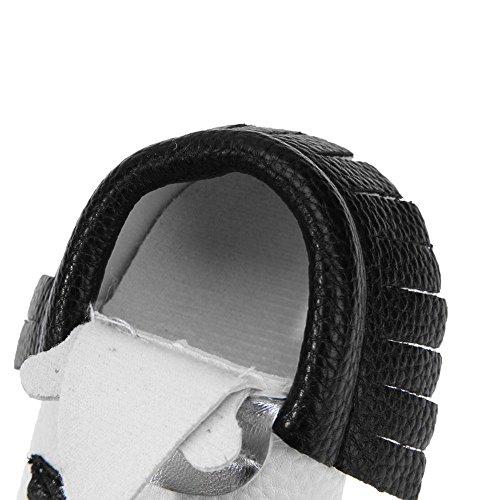 Zapatillas de invierno para bebés Prewalker para piso de bebés, suave dibujos animados (negro/12 cm): Amazon.es: Bebé