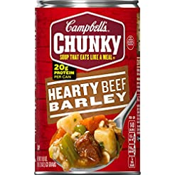 Campbell's Chunky Hearty Beef Barley Sou...