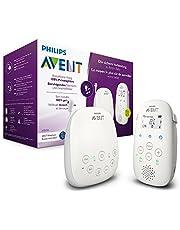 Philips Avent DECT Babyfoon - Nachtlampje en slaapliedjes - 330 Meter bereik - 18 Uur draadloos te gebruiken - DECT technologie voor veilige verbinding - Temperatuursensor - Helder geluid - SCD713/26