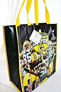 Green Bay Packers Super Bowl Champions commerative Team Photo Reusable Shopping Bag by forever