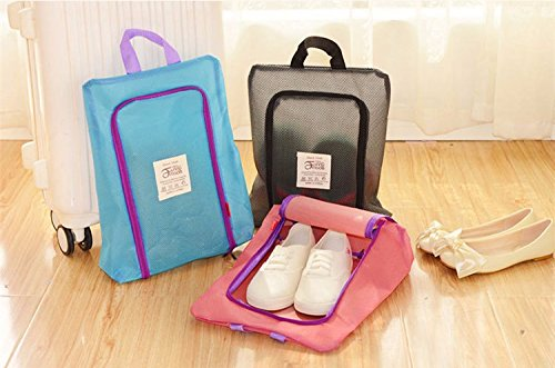 XB-SNB049 Shoes Storage Organizer Waterproof Basket women men bag travel Handbag Necessities items Accessories Supplies Product #Color Blue - Calvin Klein Lace Socks