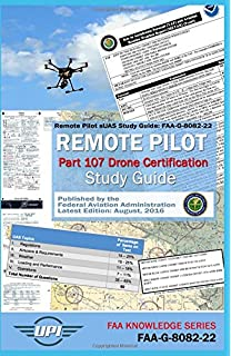 Remote pilot test prep 2018 study prepare pass your test and remote pilot small unmanned aircraft systems study guide faa g 8082 22 fandeluxe Images