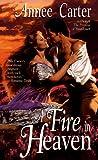 A Fire in Heaven, Annee Carter, 0440222974
