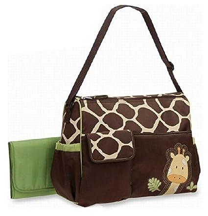 Baby Pañales Pañales Tuerca bolso jirafa Nappy Changing verde