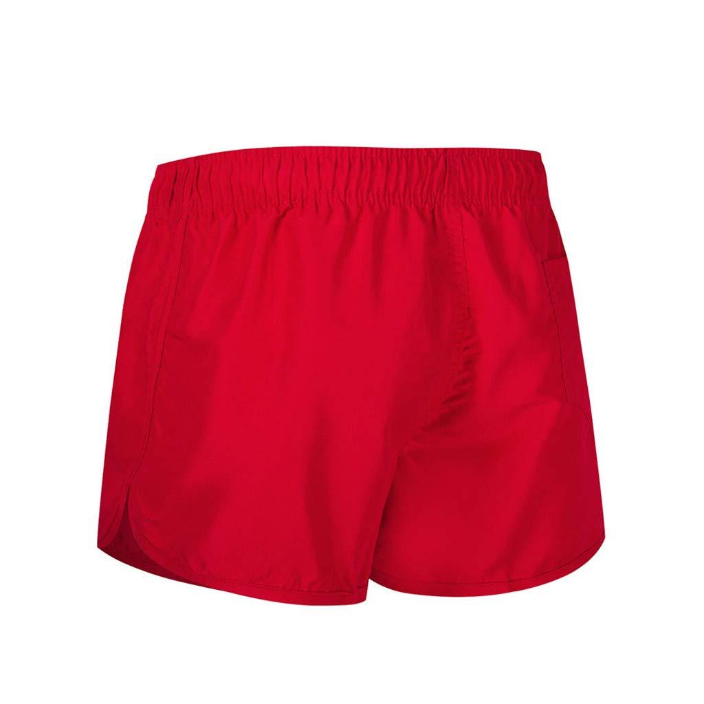 Subfamily Ba/ñador Estampado Beach Shorts Pantalones Cortos de Chandal con Cintura el/ástica con cord/ón,Pantalon Verde Hombre Tallas Grandes M~2XL