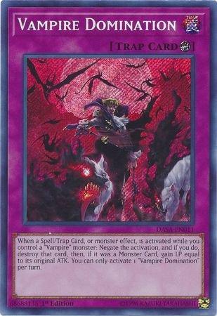 Vampire Domination - DASA-EN011 - Secret Rare - 1st Edition