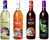 Hazlitt 1852 Vineyards Sweet Deal, Mixed Pack of 4 750ml Bottles of Wine