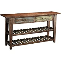 Treasure Trove Accents 16293 2 Drawer Console Table, 60 x 16 x 32