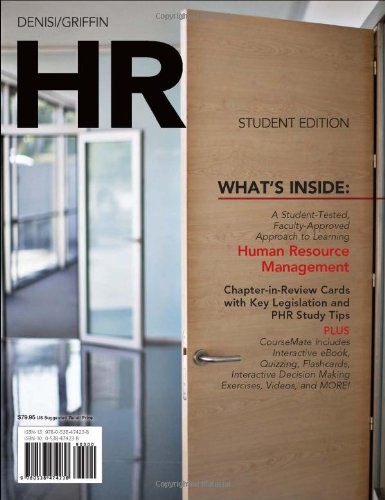 HR (with Management CourseMate with eBook Printed Access Card)