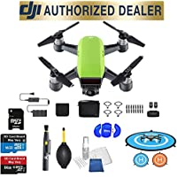 DJI Spark Fly More Combo (Meadow Green) Best Accessory Basic Bundle Package Deal