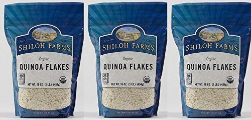Shiloh Farms Organic Quinoa Flakes -- 16 oz (Pack of 3) by Shiloh Farms