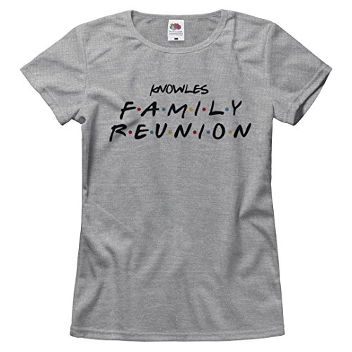 - Knowles Family Reunion Matching Tee: Ladies Relaxed Fruit of The Loom T-Shirt