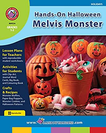 Hands-On Halloween: Melvis Monster Gr. 1-2 - Kindle edition by ...