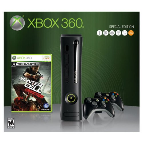 Xbox 250GB Elite Splinter Conviction Bundle