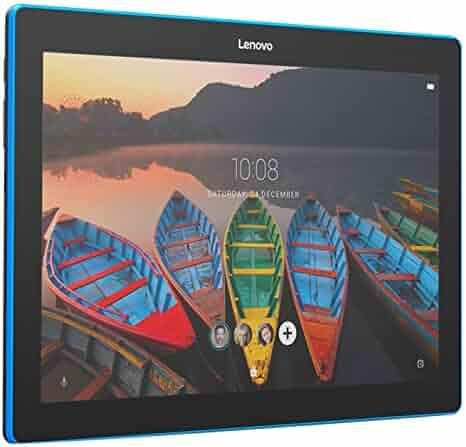 Lenovo Tab 10, 10-Inch Android Tablet, Qualcomm Snapdragon 210 Quad-Core 1.3 GHz Processor, 16 GB Storage, Slate Black - Lenovo TB-X103F