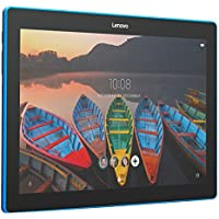 Lenovo Tab 10, 10-Inch Android Tablet, Qualcomm Snapdragon 210 Quad-Core 1.3 GHz Processor, 16 GB Storage, Slate Black, ZA1U0003US