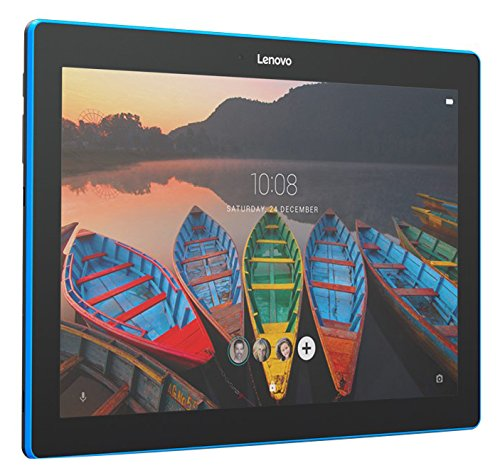 Lenovo Tab 10, 10-Inch Android Tablet, Qualcomm Snapdragon 210 Quad-Core 1.3 GHz Processor, 16 GB Storage, Slate Black, ZA1U0003US by Lenovo