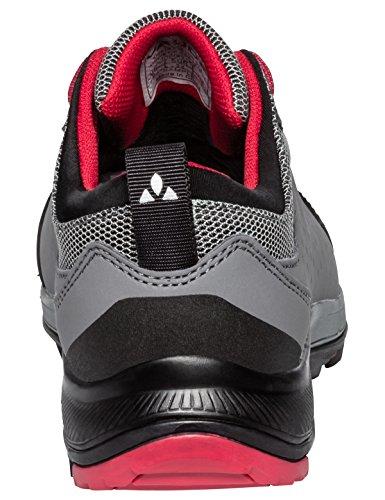 VAUDE Lapita Cpx, Zapatos de Low Rise Senderismo Unisex Niños Rojo (Indian Red)
