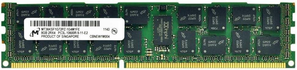 8GB DDR3-1333 2Rx4 1.35v ECC REG RoHS Supermicro Certified MEM-DR380L-CL02-ER13 Micron Memory