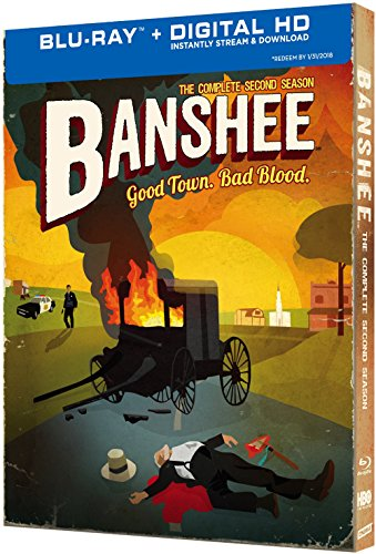 Blu-ray : Banshee: The Complete Second Season (Boxed Set, Full Frame, , 4 Disc)