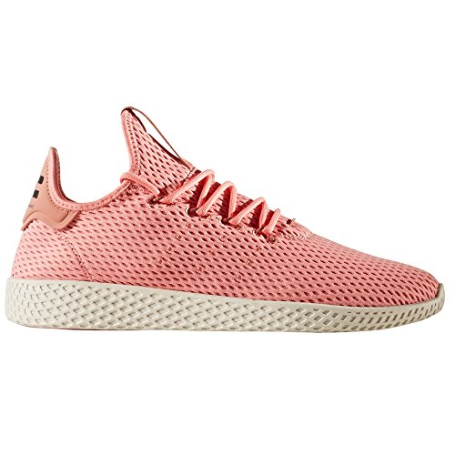 Adidas Mens Pharrell Williams Tennis Hu Atletische Schoen Rosa Tactil
