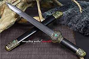 Authentic Long Quan Swords Short Han Jian Wushu Swords