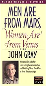 Amazon.com: Men Are from Mars, Women Are from Venus [VHS ...