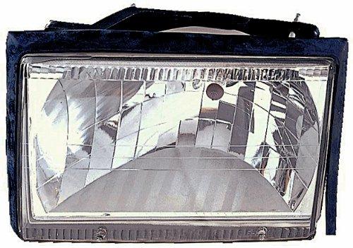 IPCW CWS-532 Crystal Diamond Cut Headlight - Pair