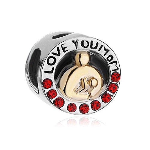 CharmsStory Charms Birthstone Crystal Bracelets