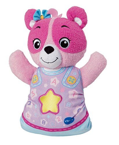 Cuddly Pink Teddy Bear - VTech Soothing Songs Bear Pink