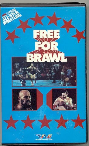 1986 All Star Wrestling Free For Brawl