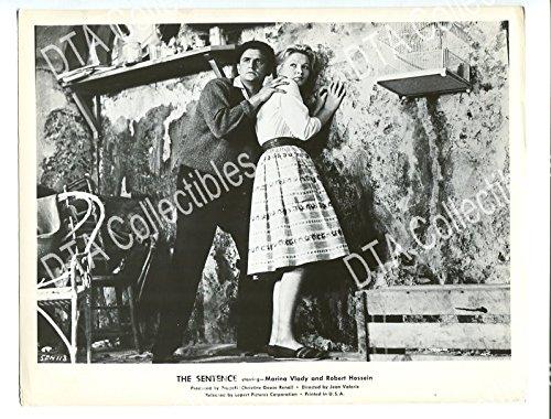 MOVIE PHOTO: SENTENCE-1959-8X10 PROMO STILL-MARINA VLADY