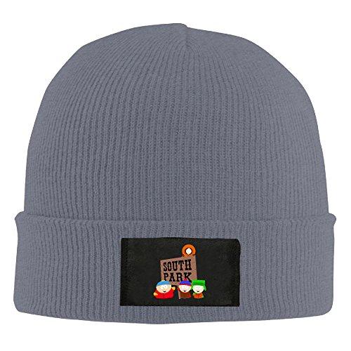 Unisex South Park Logo Acrylic Wool Cap Asphalt]()