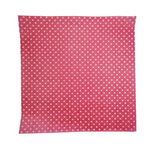 Regency Wraps RW376PK-D-50 Treat Sheets, Pink with White Dots, Set of 50 Liners