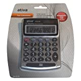 Ativa 12-Digit Desktop Tax Calculator