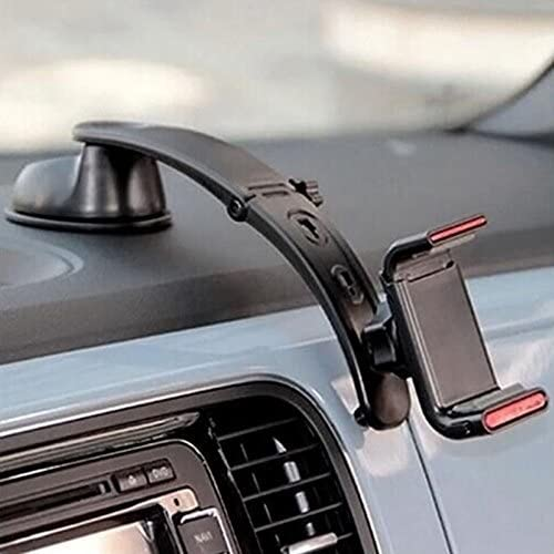 Dashboard Black Veepax JHD-301 Car Phone Mount Holder 3 in 1 Windshield Air Vent Magnetic for Cell Phone