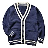 Betusline Kids Baby Boy Toddler Infant Sweater Knitted Cardigan Coat With Button