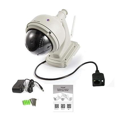 Flower205 Cámara de vigilancia para el hogar, de PT,720p, WIFI, visión