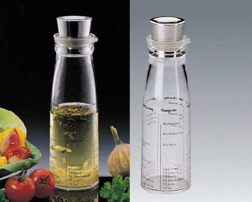 Kuchenprofi Acrylic Dressing Shaker w/Stainless Steel Top 1310282800