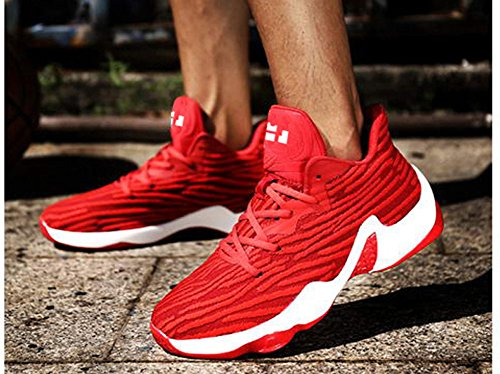Sneakers Men's Shoes Basketball JiYe Sports Red Performance Fashion HqAxH1w8Y