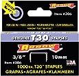 Arrow Fastener 306 Genuine 3/8-Inch Thin Wire Staples for T30 staple gun, HT 30 hammer tacker, 1,000-Pack