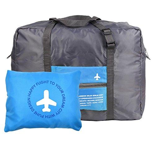 ダッフルバッグ – 防水旅行ダッフルバッグ、折りたたみ式、ナイロンスポーツダッフルバッグ旅行、Campimg、スポーツ