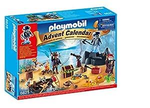 Playmobil 6625 Advent Calendar Pirate Treasure Island Playset