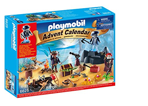 PLAYMOBIL® Advent Calendar 'Pirate Treasure Island' Playset