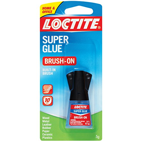 Loctite Super Glue Brush On Bottle 5 Grams Case of 6 (1365734-6) (Ca Glue Loctite)